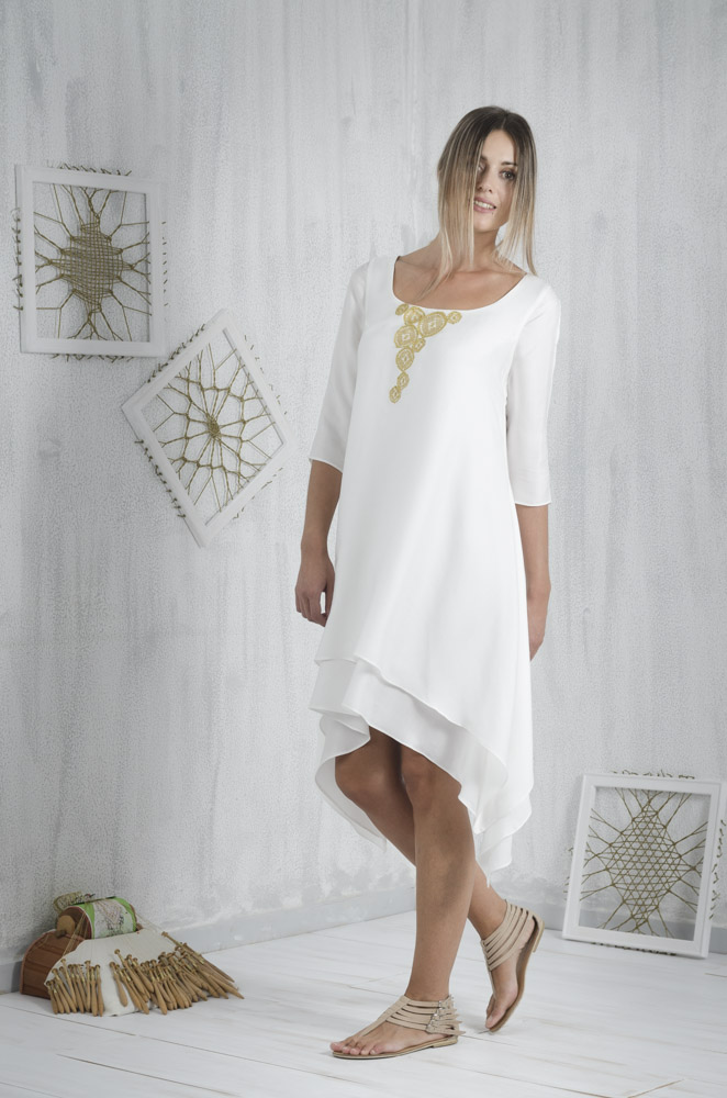 636d8c016bd5 Είναι εύκολο να γίνεις μια επιτυχημένη σχεδιάστρια μόδας σε ένα μικρό και  απομακρυσμένο μέρος όπως η Κρήτη