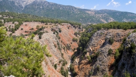 In Aradaina you will find the highest bridge for bungee jumping in Greece. Jump if you dare!