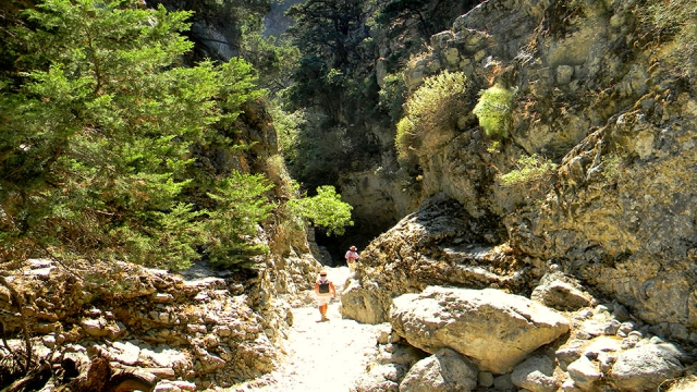 Imbros, the second most popular gorge of Crete