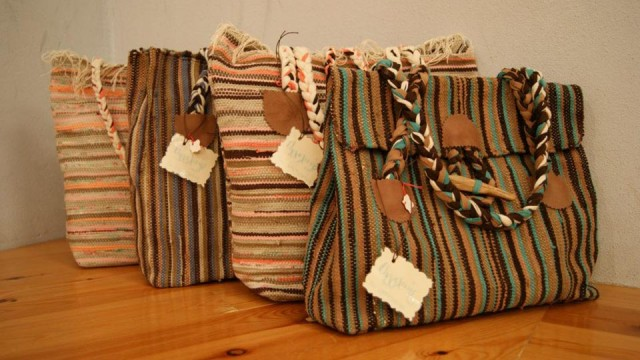 The modern bags of Angeliki (Kurelu creations, Pyrgos)