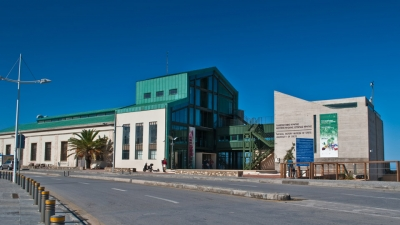 The industrial building of the Natural History Museum of Crete