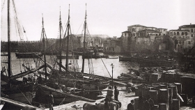 The port of Heraklion (1911)||