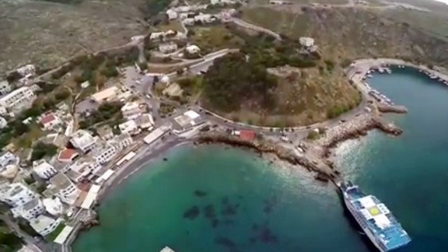 Sfakia port from above!