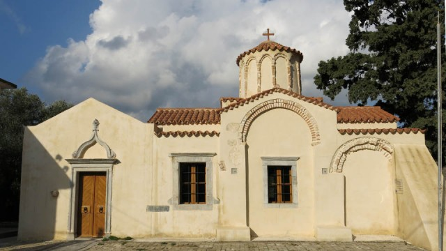 Panagia Koumpelina, recently renovated