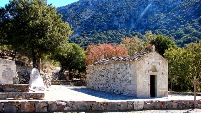 The picturesque chapel of Agios Ioannis