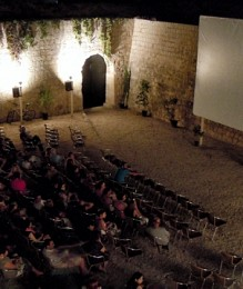 Summer cinema in the bastion of Bethlehem