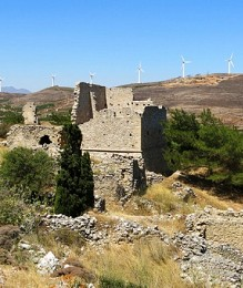 Voila, the Medieval habitat of Cretan lords