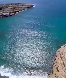 Traveling with drones over Crete